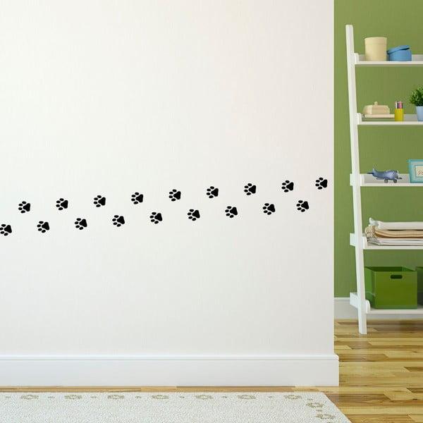Sada 20 samolepiek Ambiance Cat Footprints