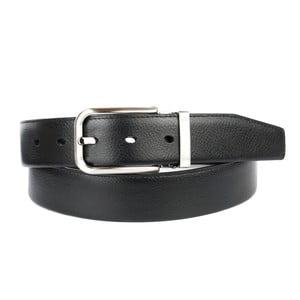 Pánsky kožený opasok 1PTT10 Black, 90 cm