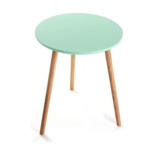 Odkladací stolík Auxiliary Turquoise, 38 cm
