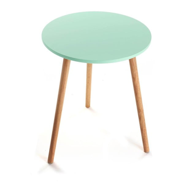 Odkladací stolík Au×iliary Turquoise, 38cm