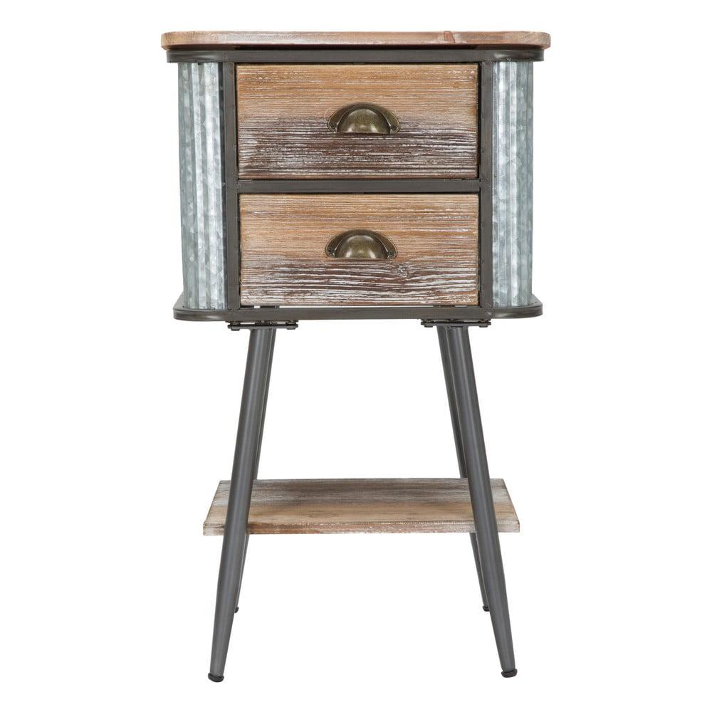 Nočný stolík Mauro Ferretti Bron×, výška 72,5 cm