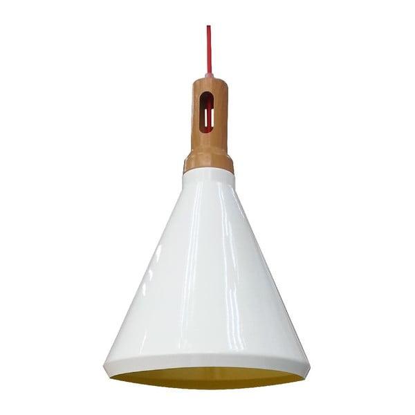 Závesné svetlo Robinson I, biele