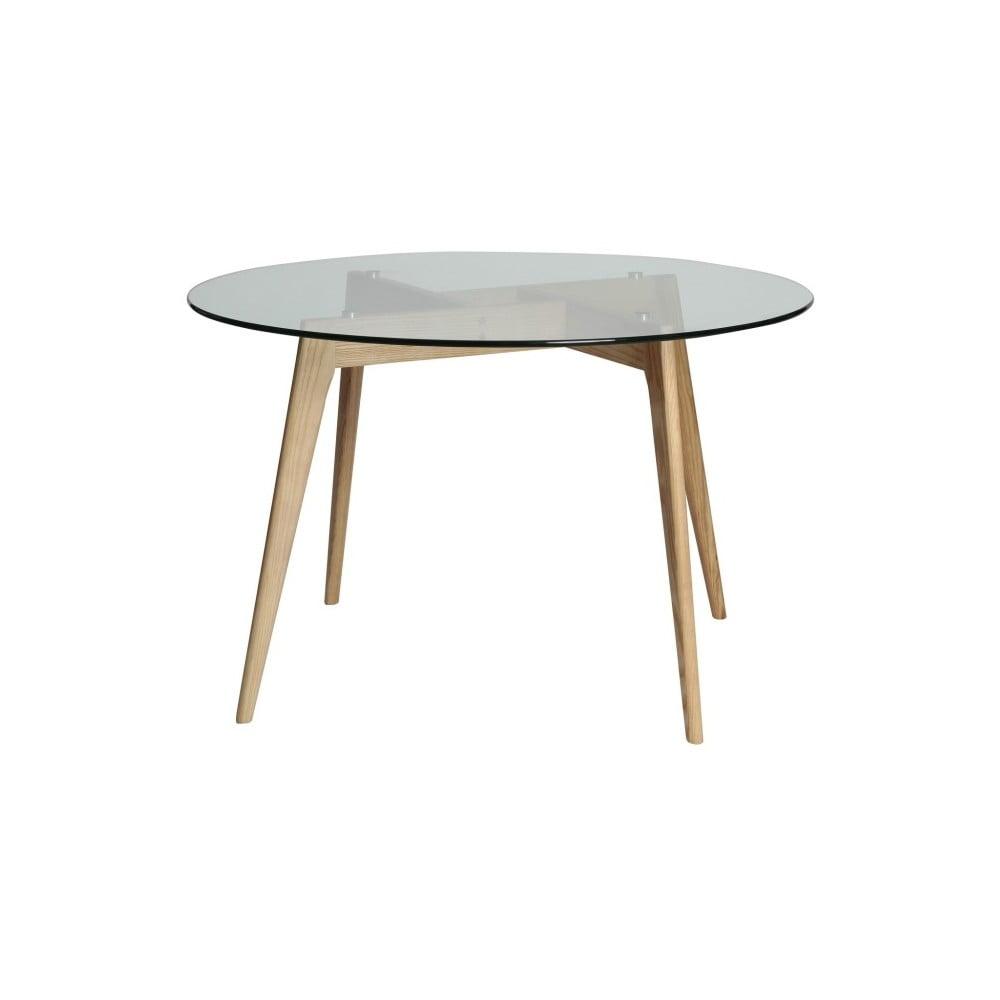 Okrúhly jedálenský stôl Marckeric Janis, ⌀ 120 cm