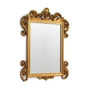 Nástenné zrkadlo v zlatej farbe Geese Baroque, 45 x 60 cm