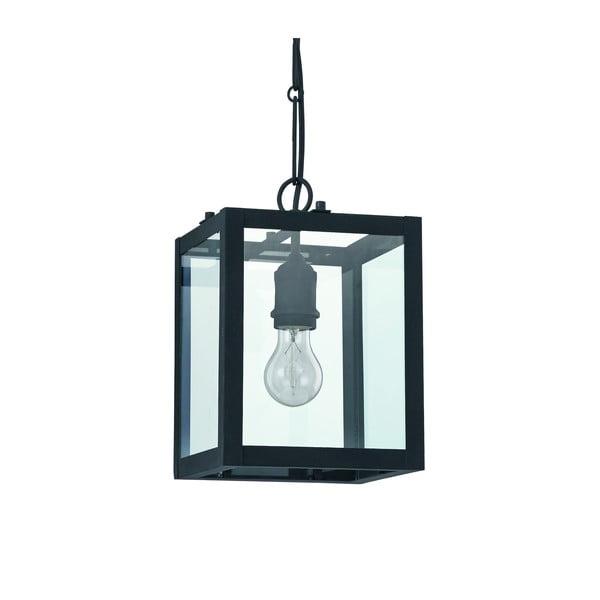 Závesné svetlo Lantern In Black