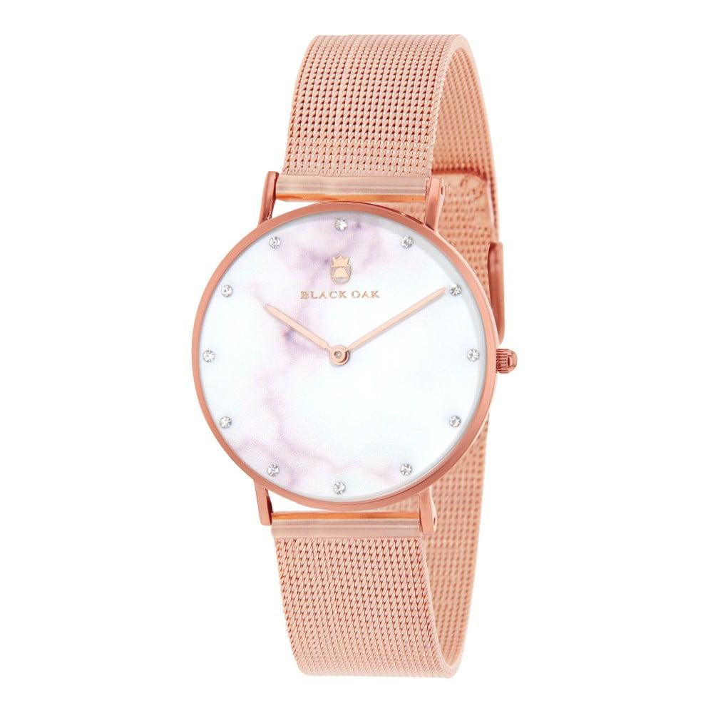fc76a93bb Ružové dámske hodinky Black Oak Marble | Bonami