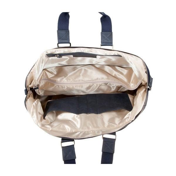 Pánska cestovná taška Vintage Overnight Ocean Blue