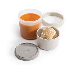 Sivá miska na polievku Joseph Joseph GoEat