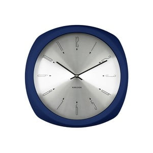 Modré hodiny Karlsson Aesthetic Square