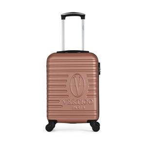 Ružový cestovný kufor na kolieskach VERTIGO Valises Cabine Cadenas