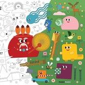 Maľovanky Creative Gifts Dobrodružstvo vo svete