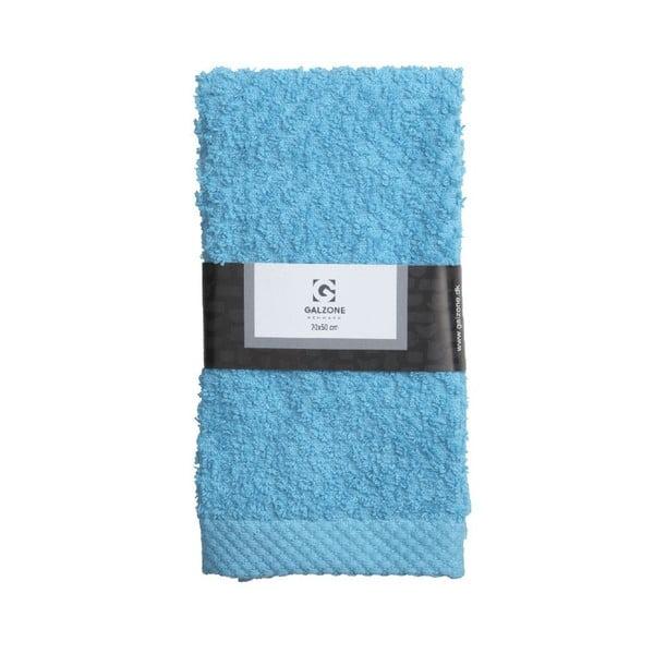 Modrý uterák Galzone 70x50 cm