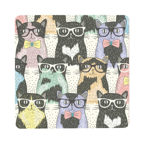 Stolík Cats In Glasses