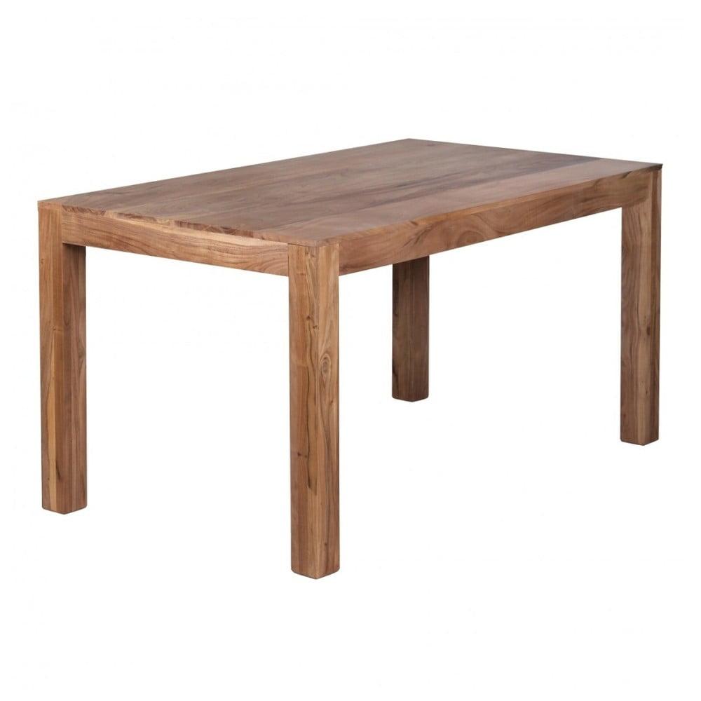 Jedálenský stôl z masívneho akáciového dreva Skyport Alison, 160 × 80 cm