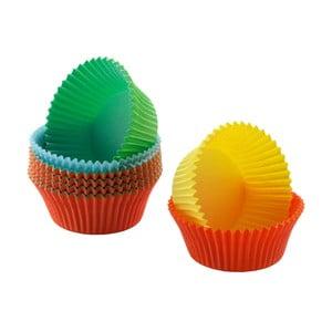 Sada 200 farebných papierových košíčkov na mini muffiny WMF