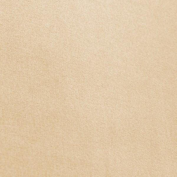 Svetlobéžové kreslo Vivonita Chesterfield