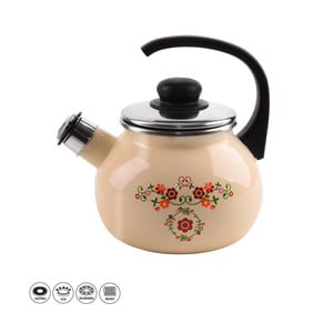 Smaltovaný čajník Orion Roba, 1,75 l