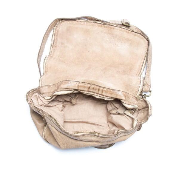 Kožená kabelka Mangotti 0009, kameň