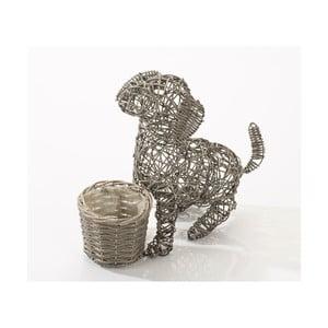 Dekoratívny ratanový kvetináč Puppy