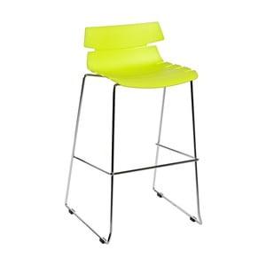 Barová stolička D2 Techno, zelená