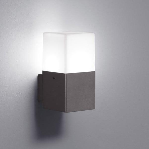 Záhradné nástenné svetlo Hudson Antracit, 17 cm