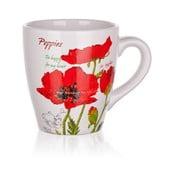 Keramický hrnček Banquet Red Poppy, 500 ml