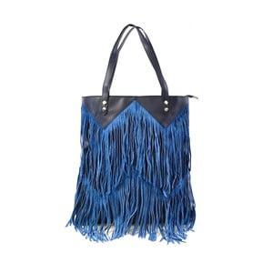 Kožená kabelka Michelle, modrá