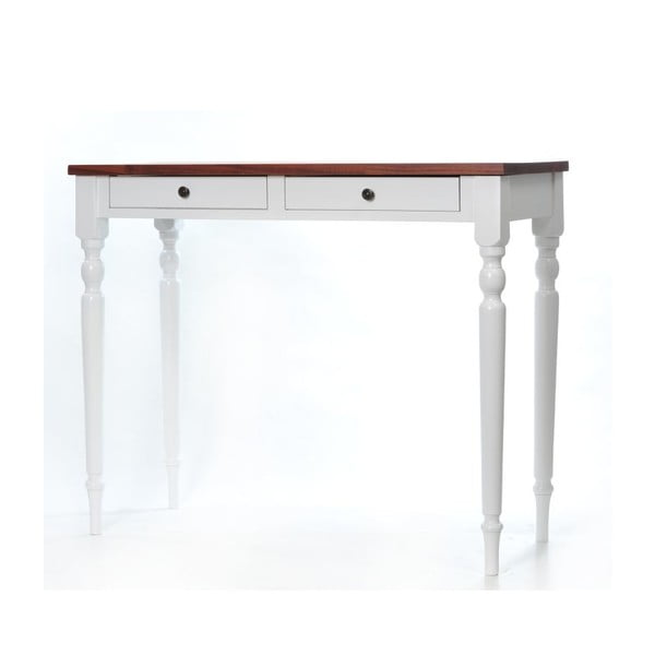 Toaletný stolík Milton Walnut, 100x42x82 cm