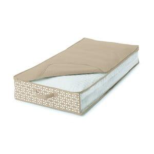 Béžový úložný obal pod posteľ Cosatto Lily, 100×50cm