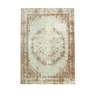 Hnedo-béžový koberec s prímesou bavlny Cotex Sidari, 140 × 200 cm