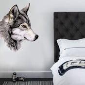 Samolepka na stenu Wolf, 70x50 cm