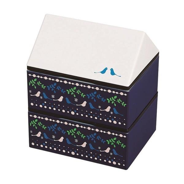 Desiatový box Joli Bento Metsa Blue, 725ml
