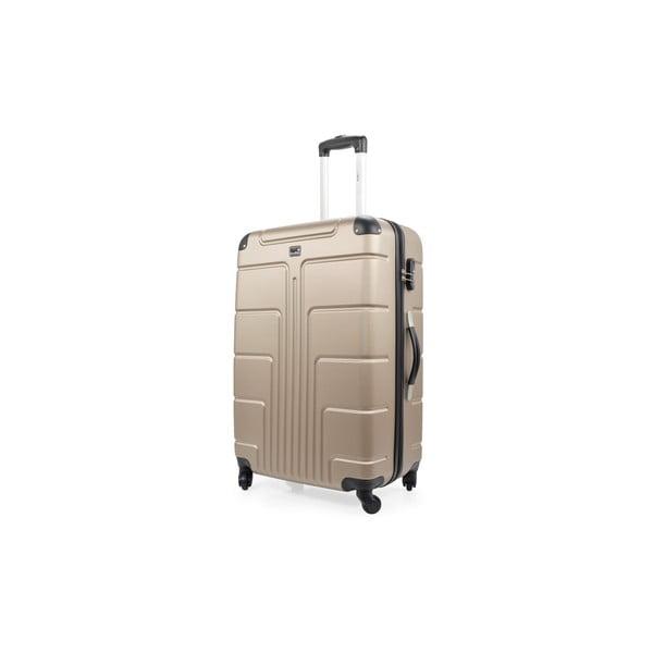 Sada 3 béžových kufrov na kolieskach Blue Star Ottawa