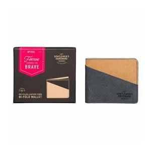 Peňaženka z recyklovanej kože Gentlemen's Hardware Bi-Fold