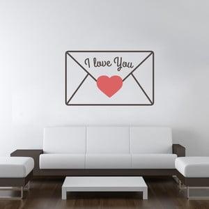 Samolepka na stenu Love Message