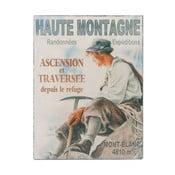 Nástenná ceduľa Antic Line Haute Montagne, 25 x 33 cm