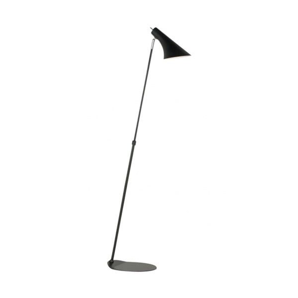 Čierna stojacia lampa Nordlux Vanila