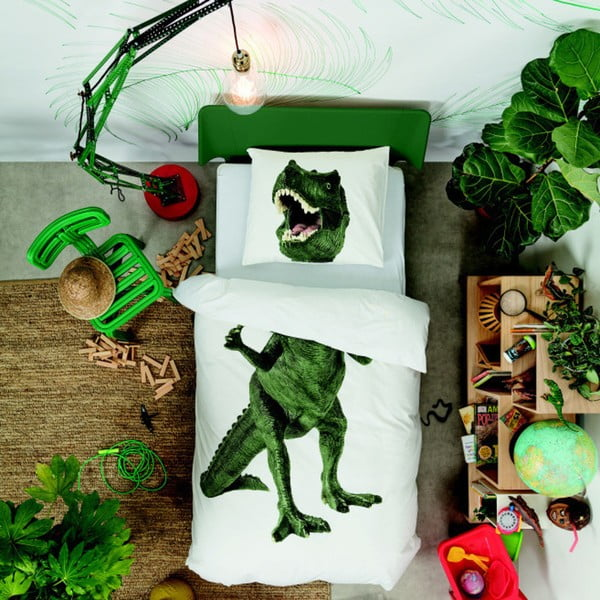 Obliečky Snurk Dinosaurus Rex, 135x200 cm