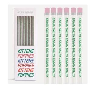 Sada 6 pasteliek U Studio Design Kittens