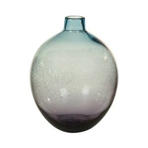 Modrá krištáľová dekoratívna váza Santiago Pons Ryde, Ø 22 cm