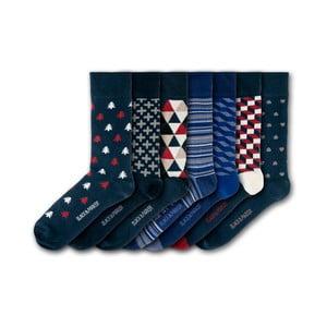 Sada 7 ponožiek Black&Parker London Sheffield Park, veľkosť 37 – 43