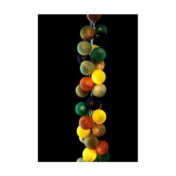 Svetelná reťaz Wasabi, 35 ks svetielok