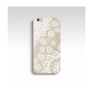 Obal na telefón Wood Mandala White pre iPhone 6/6S