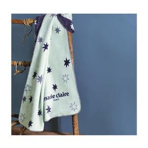 Modrá deka z edície Marie Claire Noyal, 130×170cm