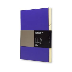 Sada 3 ks zložiek Moleskine Folio Filer Magenta, A4
