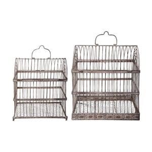 Sada 2 dekoratívnych vtáčích klietok Esschert Design