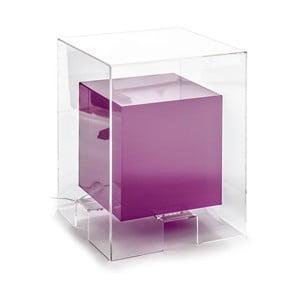 Fialový svietiaci odkladací stolík Tomasucci Space