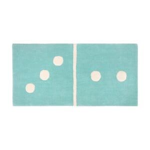 Detský koberec Domino Aqua, 60x120cm