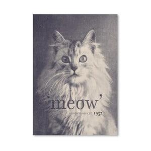 Plagát Famous Quote Cat od Florenta Bodart, 30x42 cm