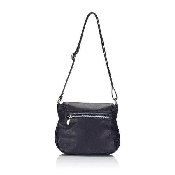 Kožená kabelka Markese 6949 Blue